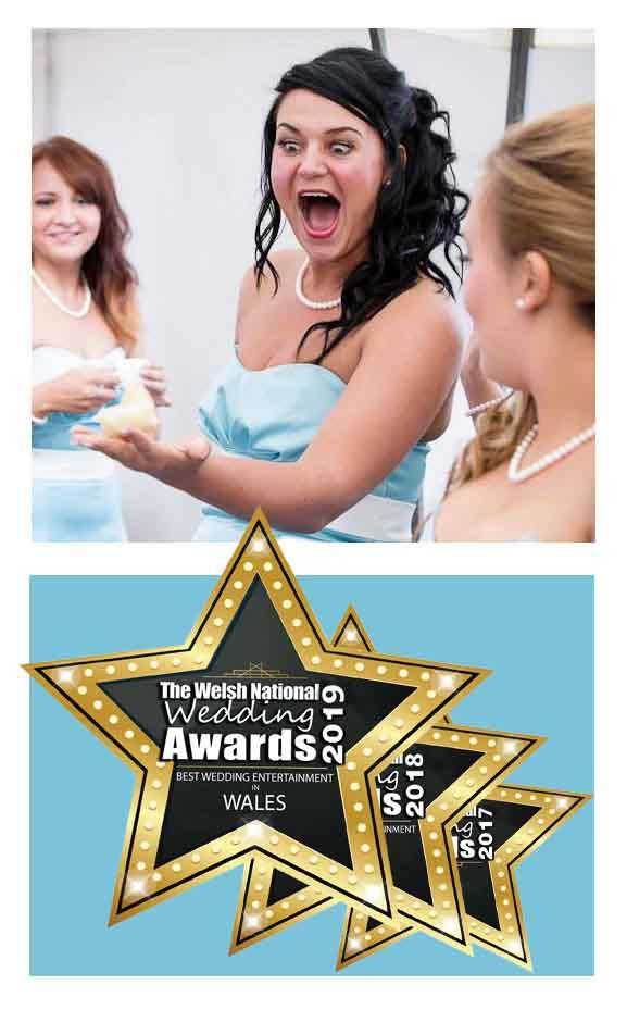 Fabulous bridesmaid